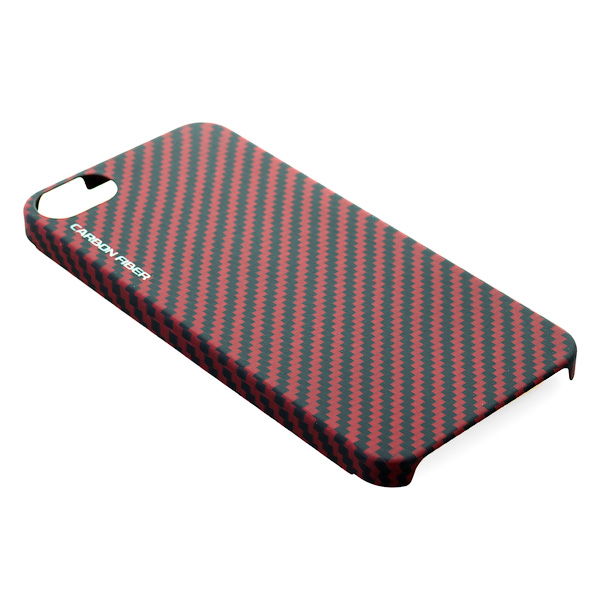 Чехол  iPhone 5/5S Gmini mCase Carbon MCI5C1
