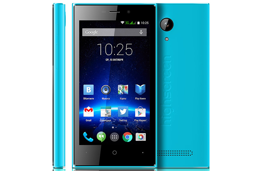 Коммуникатор Highscreen Zera F (rev.S) Blue