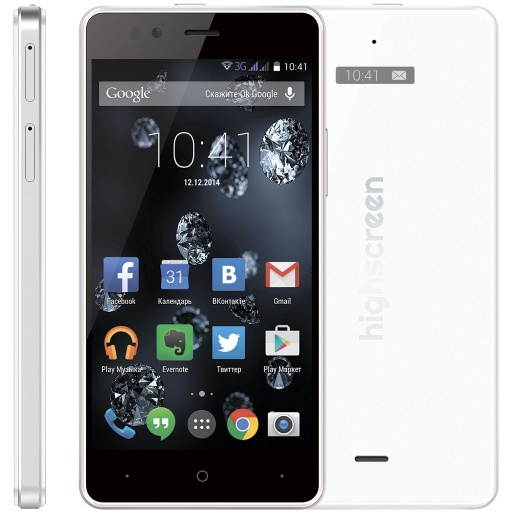 Смартфон Highscreen Ice 2 White